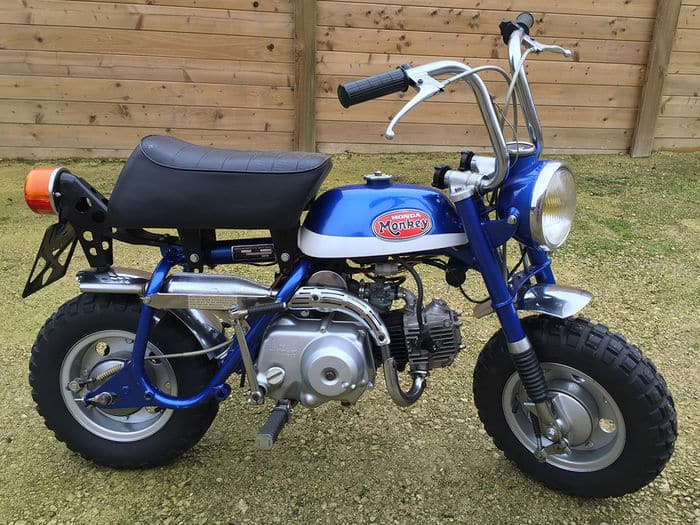 Honda Monkey Z50A K2 from 1970/71 Example picture, not my particular bike of these days