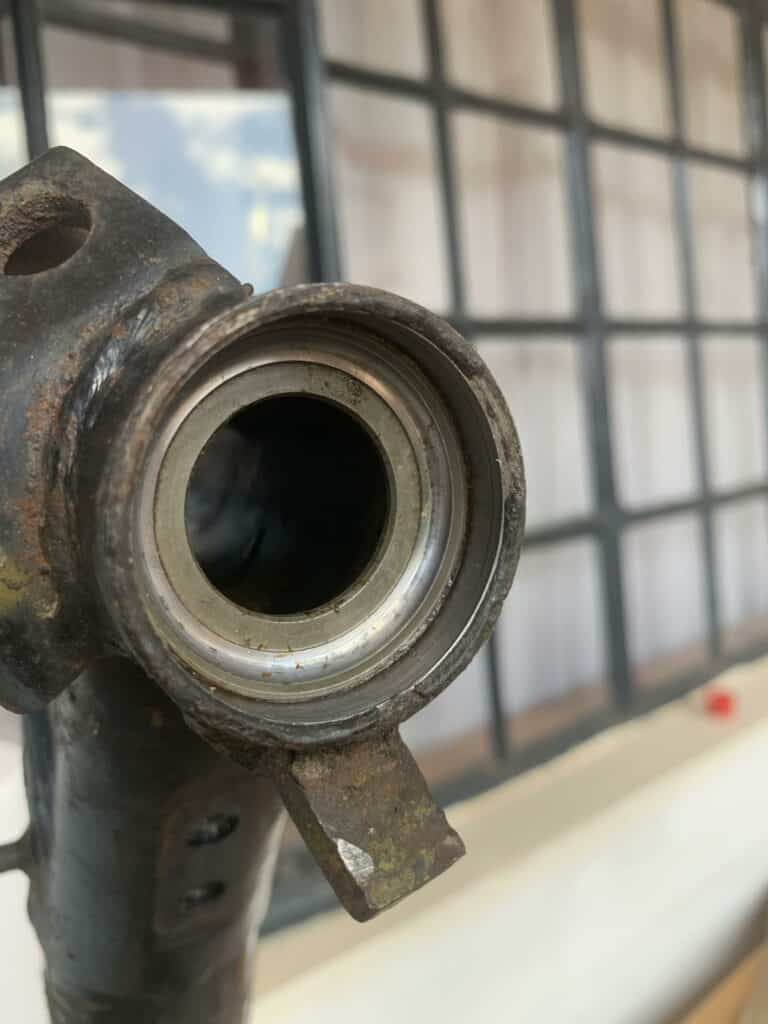 lower ball bearing shell steering